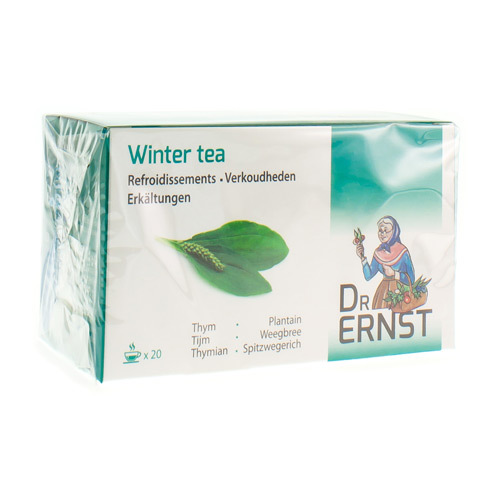 Dr. Ernst Winter Tea  20 Zakjes