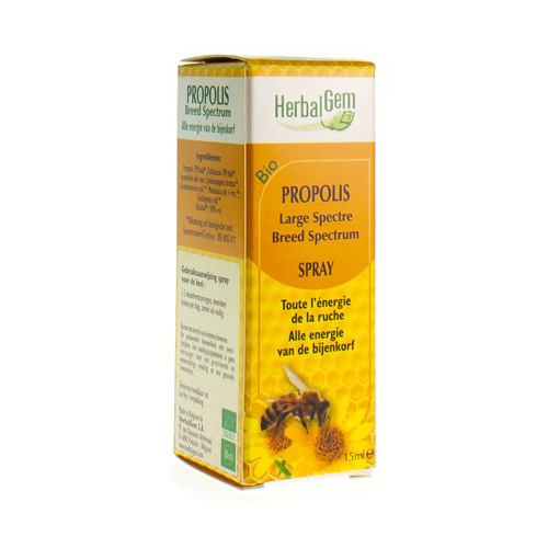 Herbalgem Propolis Spray Bio 15Ml