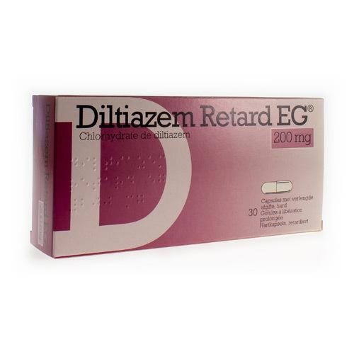 Diltiazem Retard EG 200 Mg  30 Gelules