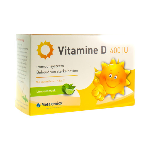 Vitamine D 400 Iu (168 Tabletten)