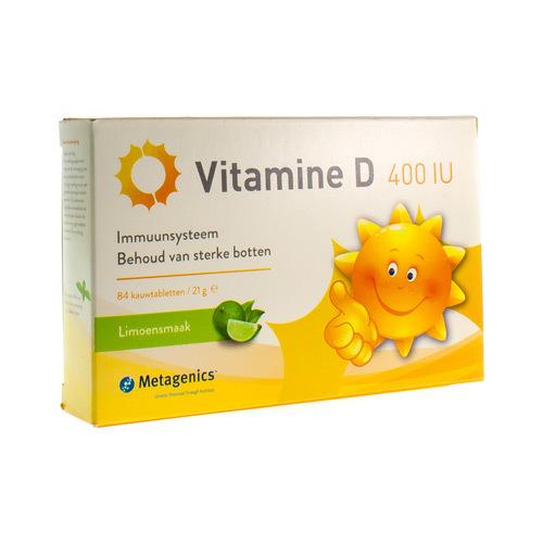 Vitamine D 400 Iu (84 Tabletten)