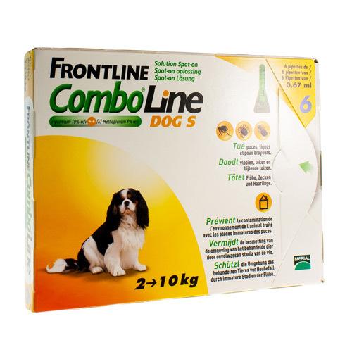 Frontline Combo Line Vet.Chien S 6X0,67Ml