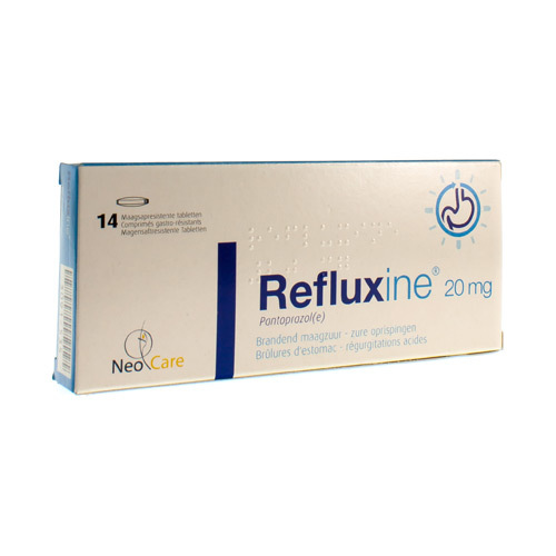 Refluxine 20 Mg (14 Tabletten)