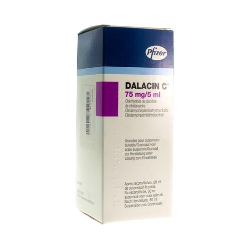 Dalacin C 75 Mg/5 Ml (80 Ml)