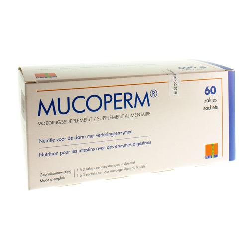Mucoperm (60 Sachets)