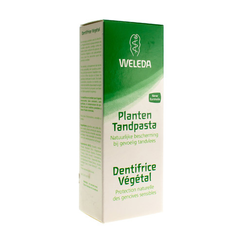 Weleda Dentifrice Vegetal (75 Ml)