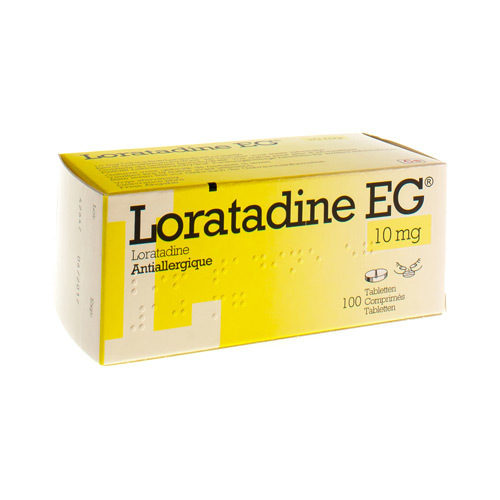 Loratadine EG 10 Mg (100 Tabletten)