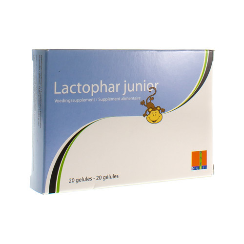 Lactophar Junior (20 Gelules)