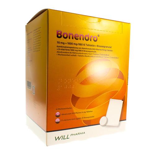 Bonendro 70 Mg + 1000 Mg/880 Ie  12 Semaines