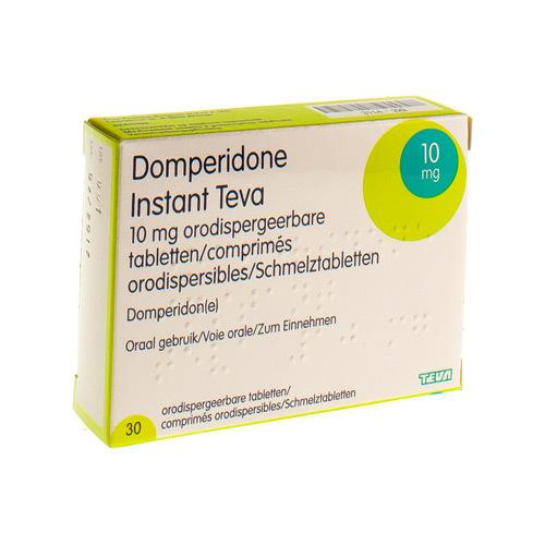 Domperidone Instant Teva 10 Mg  30 Comprimes Orodispersibles