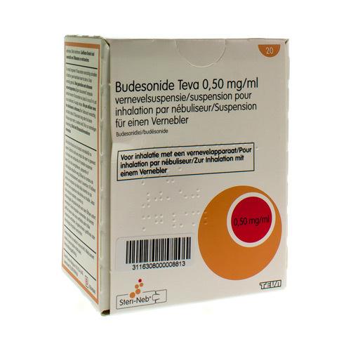 Budesonide Teva 0,5 Mg/Ml  20 Ampoules