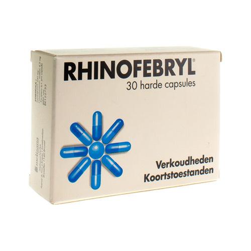 Rhinofebryl 240 Mg / 3,2 Mg (30 Capsules)