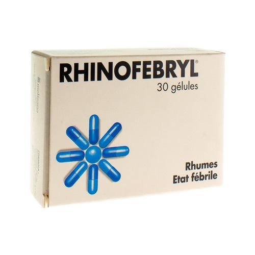 Rhinofebryl 240 Mg / 3,2 Mg (30 Gelules)