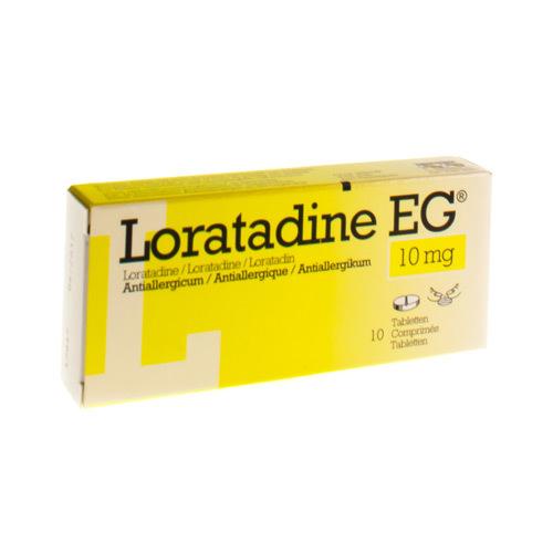 Loratadine EG 10 Mg (10 Comprimes)
