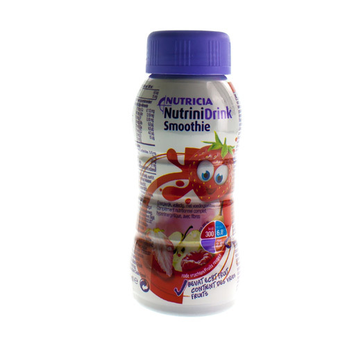 Nutrinidrink Smoothie Fruits Rouges (200 Ml)