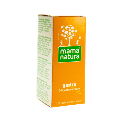 Mama Natura Gastro Tabletten 120 Tabl