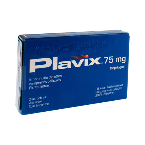 Plavix Pi Pharma 75 Mg (28 Comprimes)