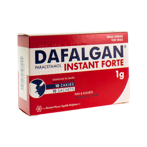 Dafalgan Instant Forte 1 G  10 Sachets