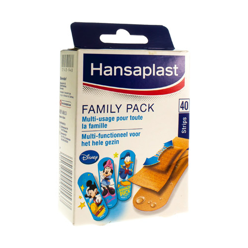 Hansaplast Family Pack (40 Strips)