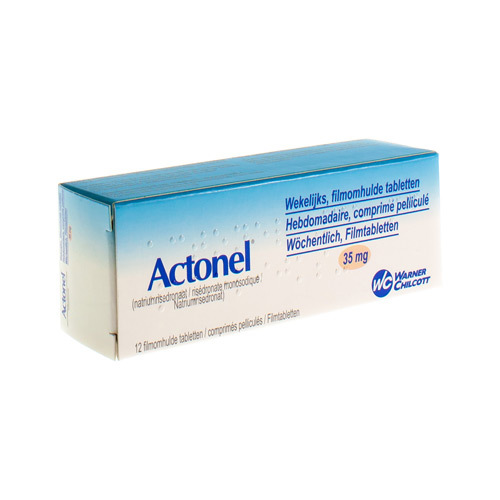 Actonel Impexeco 35 Mg  12 Comprimes