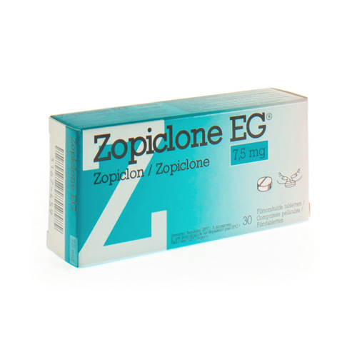 ZOPICLONE EG IMPEXECO 7,5 MG 30TABL