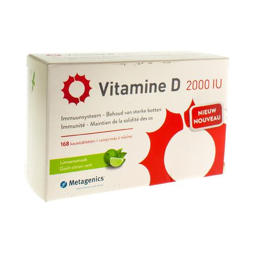 Vitamine D 2000 Iu (168 Comprimes)