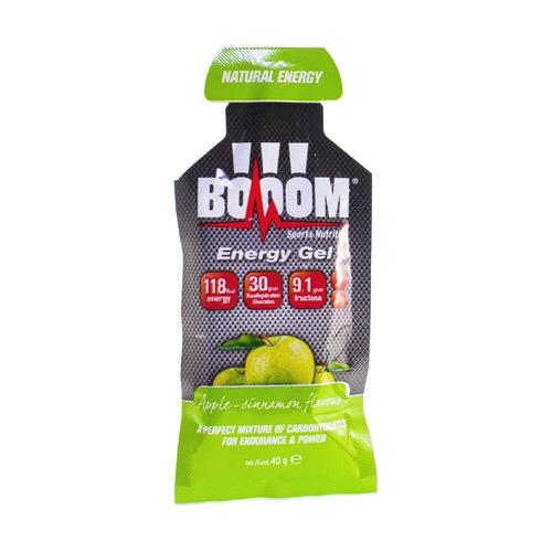 Booom Energy Gel Apple - Cinamon  40 Grammes