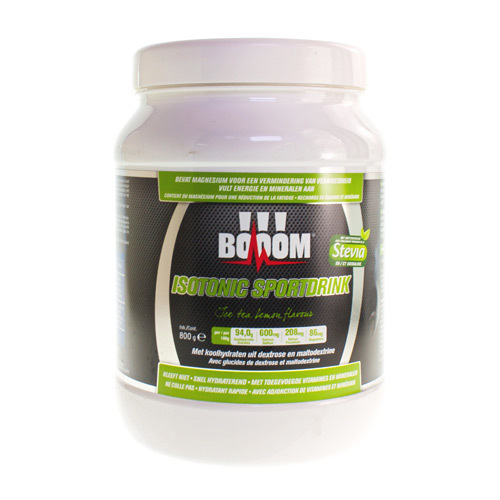 Booom Isotonic Sportdrink Ice Tea Lemon  800 Gram