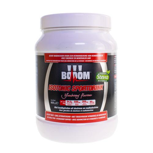 Booom Isotonic Sportdrink Yumberry  800 Gram