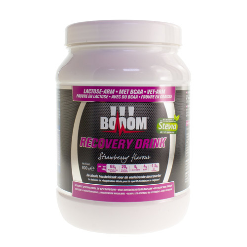Booom Recovery Drink Strawberry  800 Gram