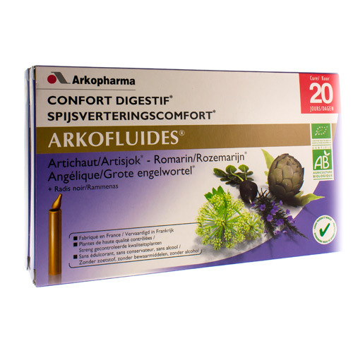 Arkofluide Spijsvertering Bio  20 Unicadose
