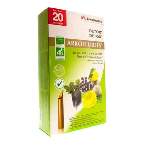 Arkocaps Detox Bio Unicadoses  20 Remplies