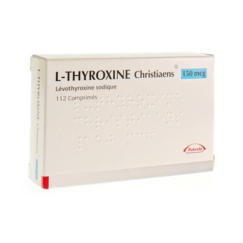 L-Thyroxine Christiaens 150 Mcg (112 Comprimes)