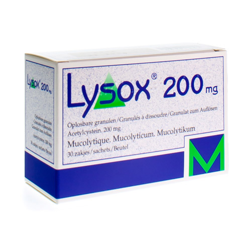 Lysox 200 Mg (30 Zakjes)