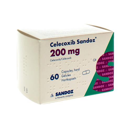 Celexib Sandoz 200 Mg  60 Gelules