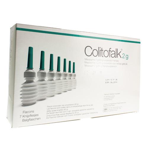 Colitofalk Clysma 2 G  7 Knijpflesjes