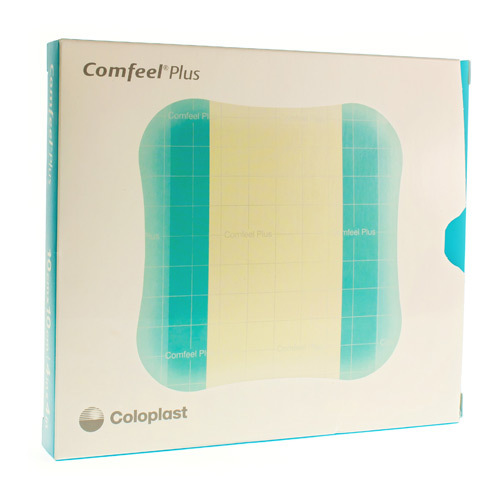 Comfeel Plus 10 Cm X 10 Cm  3 Pieces