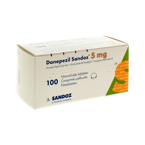 Donepezil Sandoz 5 Mg  100 Comprimes