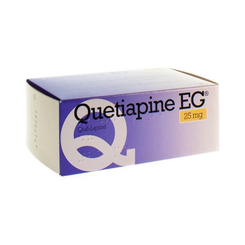 Quetiapine EG 25 Mg (100 Comprimes)