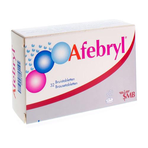 Afebryl 300 Mg / 300 Mg / 200 Mg (32 Bruistabletten)