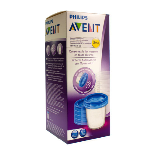 Avent Via Natural Pot De Conserv 180Ml