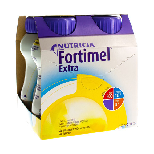 Fortimel Extra Vanille (4 X 200 Ml)