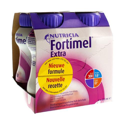 Fortimel Extra Bosvuchten (4 X 200 Ml)