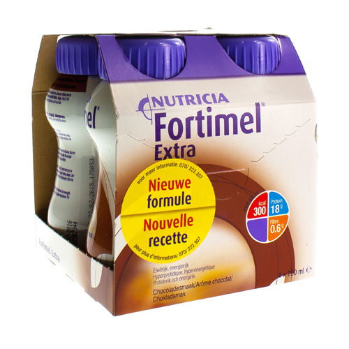 Fortimel Extra Chocolade (4 X 200 Ml)