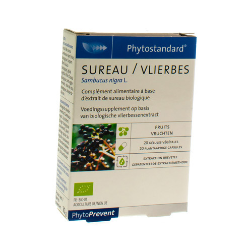 Phytostandard Sureau 20Caps