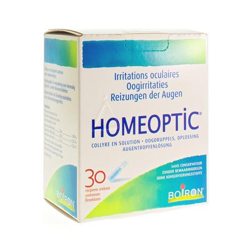 Homeoptic Gouttes Yeux Ud 30Pcs
