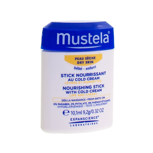 Mustela PS Stick Nourrissant Cold Cream 9,2G