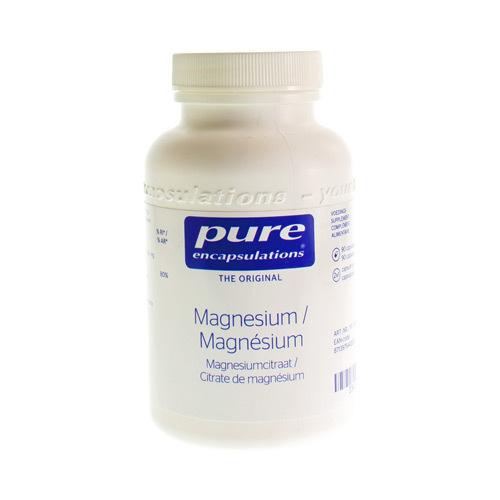 Pure Encap Magnesium Citraat 90Caps