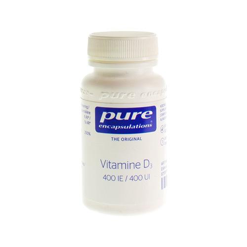 Pure Encap Vitamine D3 400Ie 60Caps