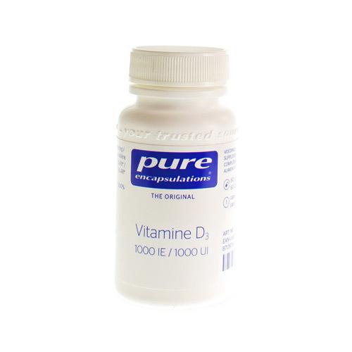 Pure Encap Vitamine D3 1000Ie 60Caps
